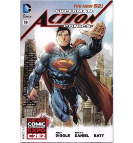 ACTION COMICS (2013) #19 C2E2 Exclusive Variant Cover