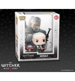 Funko POP Game Cover The Witcher 3 - Geralt Exklusive