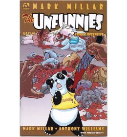 MARK MILLAR'S THE UNFUNNIES (2004) #3A Offensive Cover