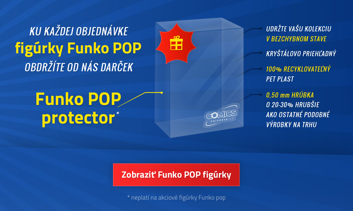 Free Funko POP protector with every Funko figure